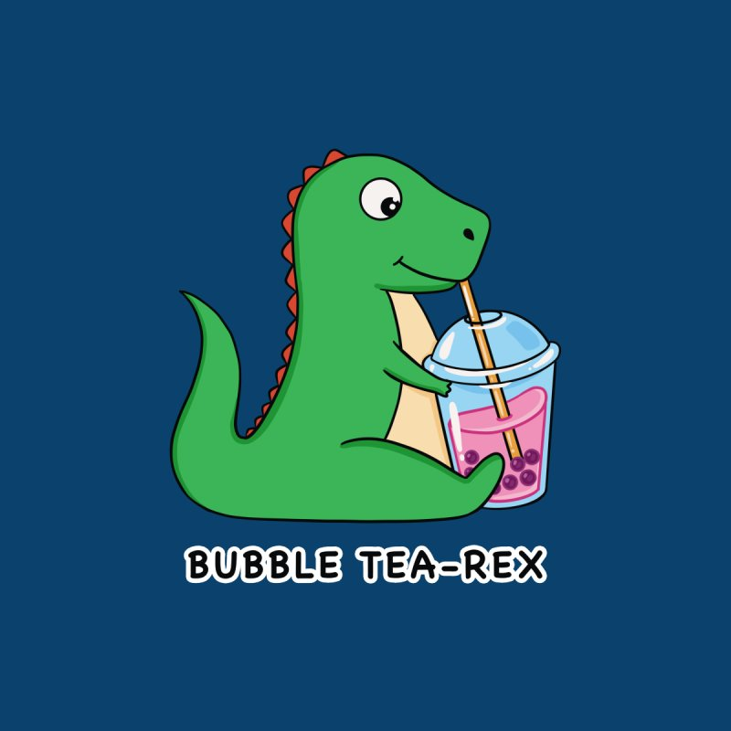 Dinosaur Tea Rex Men's Pullover Hoody by coffeeman's Artist Shop