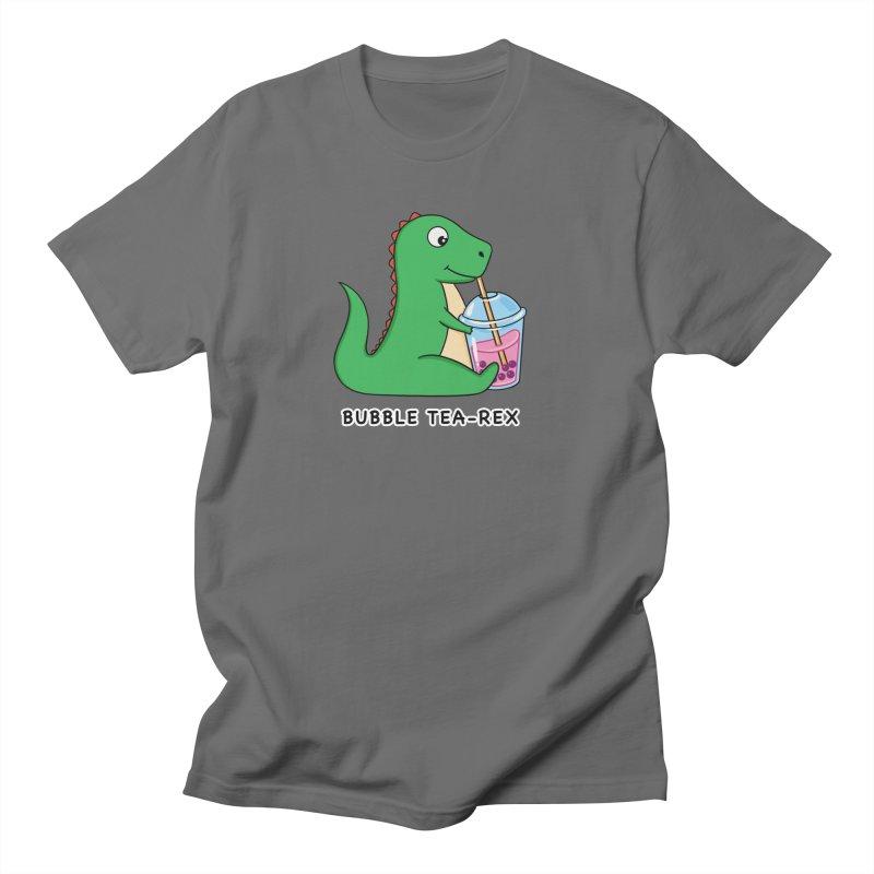 Dinosaur Tea Rex Men's T-Shirt by coffeeman's Artist Shop
