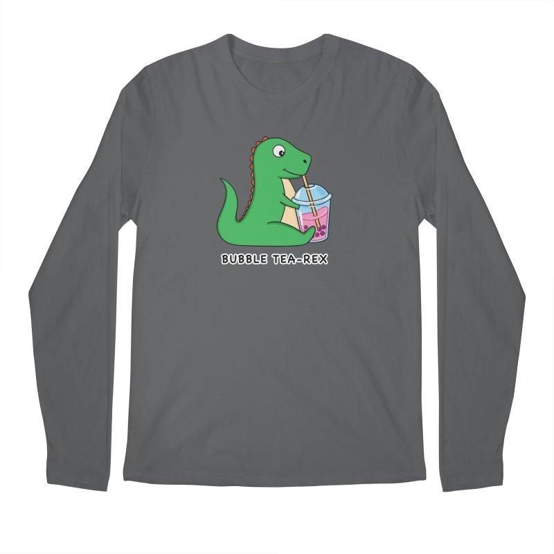 Dinosaur Tea Rex Men's Longsleeve T-Shirt by coffeeman's Artist Shop