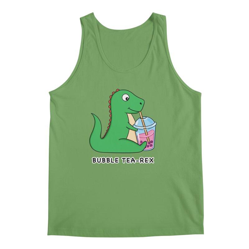 Dinosaur Tea Rex Men's Tank by coffeeman's Artist Shop
