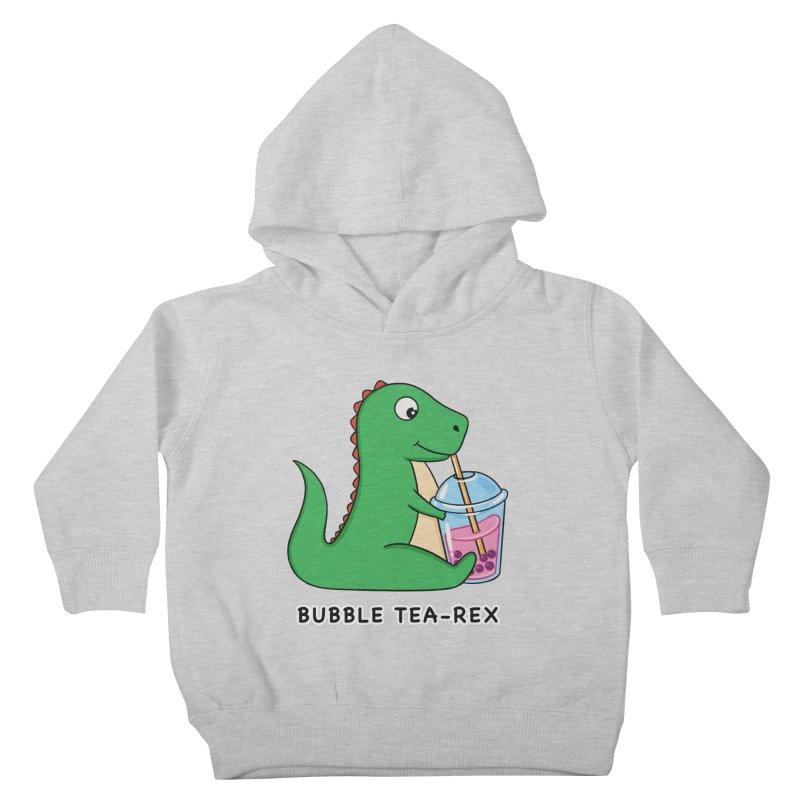 Dinosaur Tea Rex Kids Toddler Pullover Hoody by coffeeman's Artist Shop