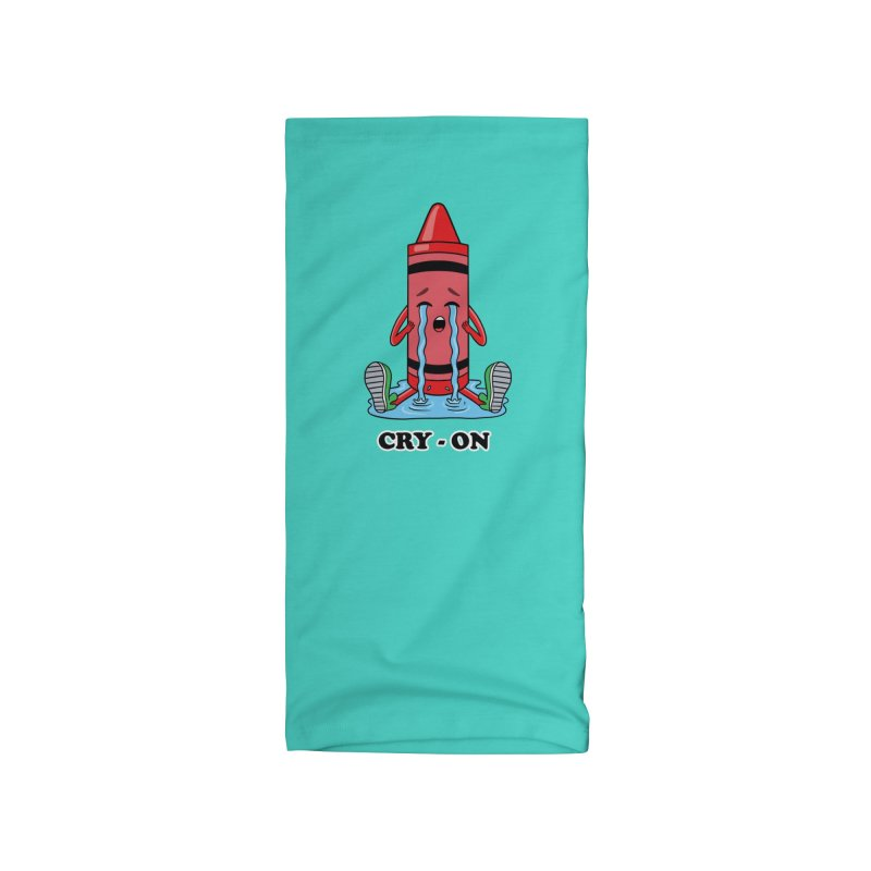 Funny Cry-on Accessories Neck Gaiter by coffeeman's Artist Shop