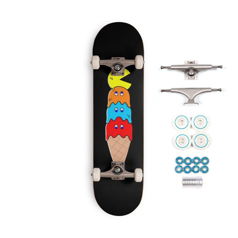 Retro game Accessories Skateboard by coffeeman's Artist Shop