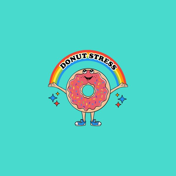image for Funny Donut Stress