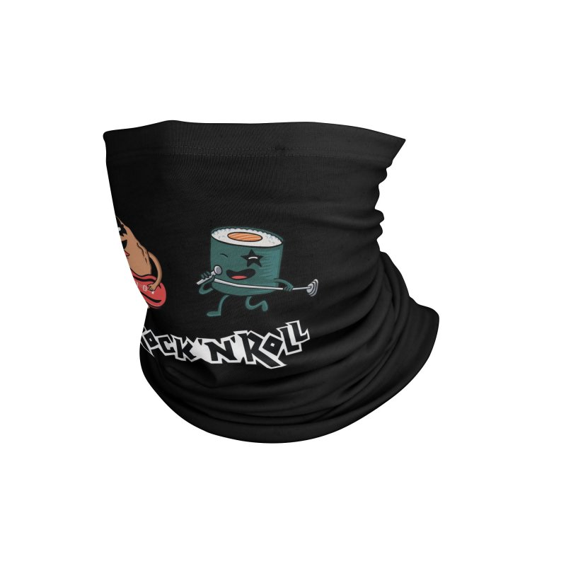 Funny Rock and Rock Accessories Neck Gaiter by coffeeman's Artist Shop