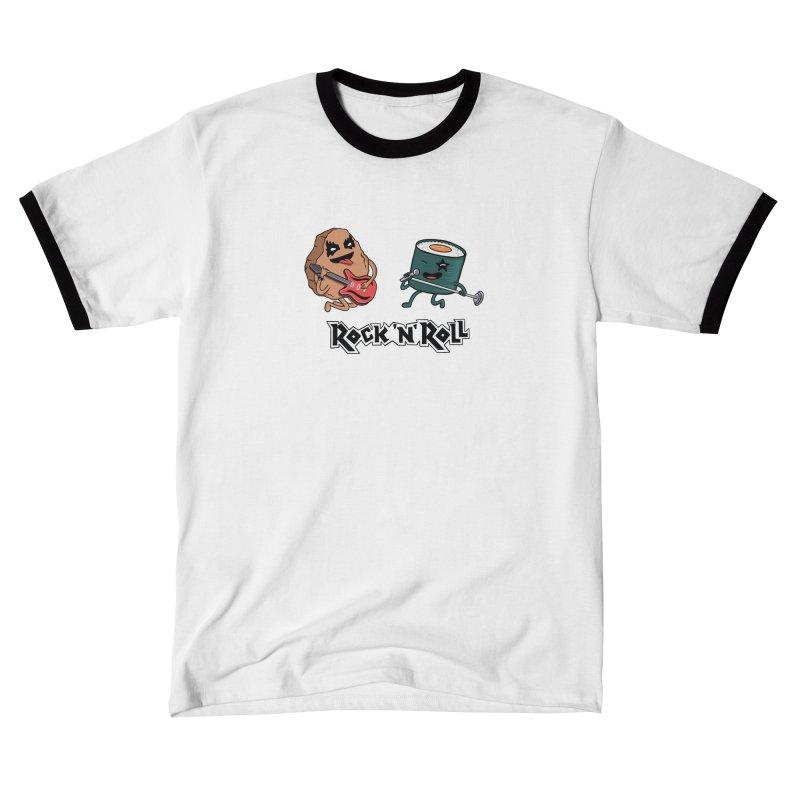 Funny Rock and Rock Women's T-Shirt by coffeeman's Artist Shop