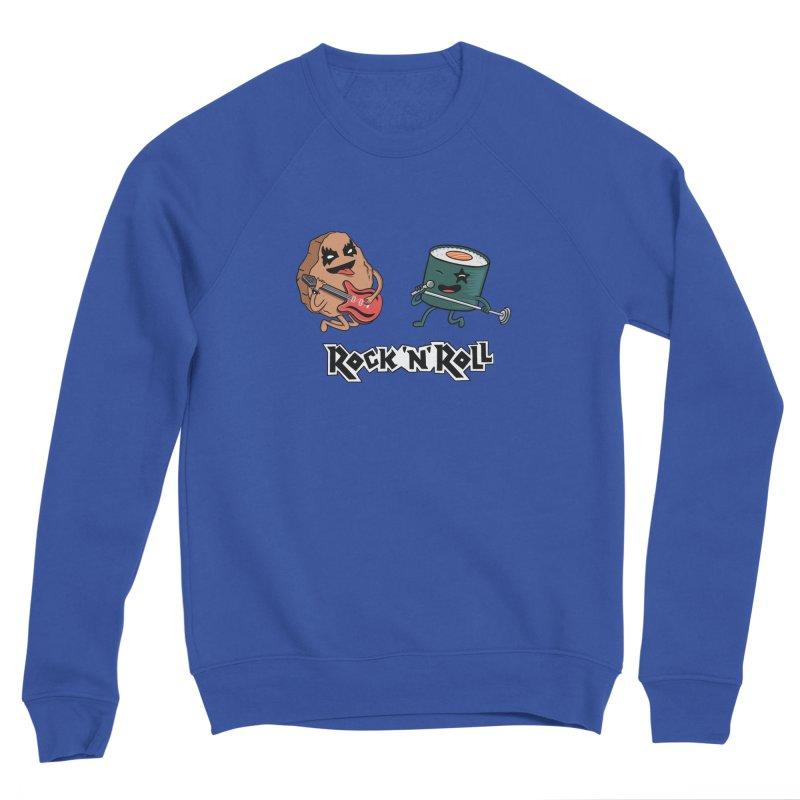 Funny Rock and Rock Women's Sweatshirt by coffeeman's Artist Shop
