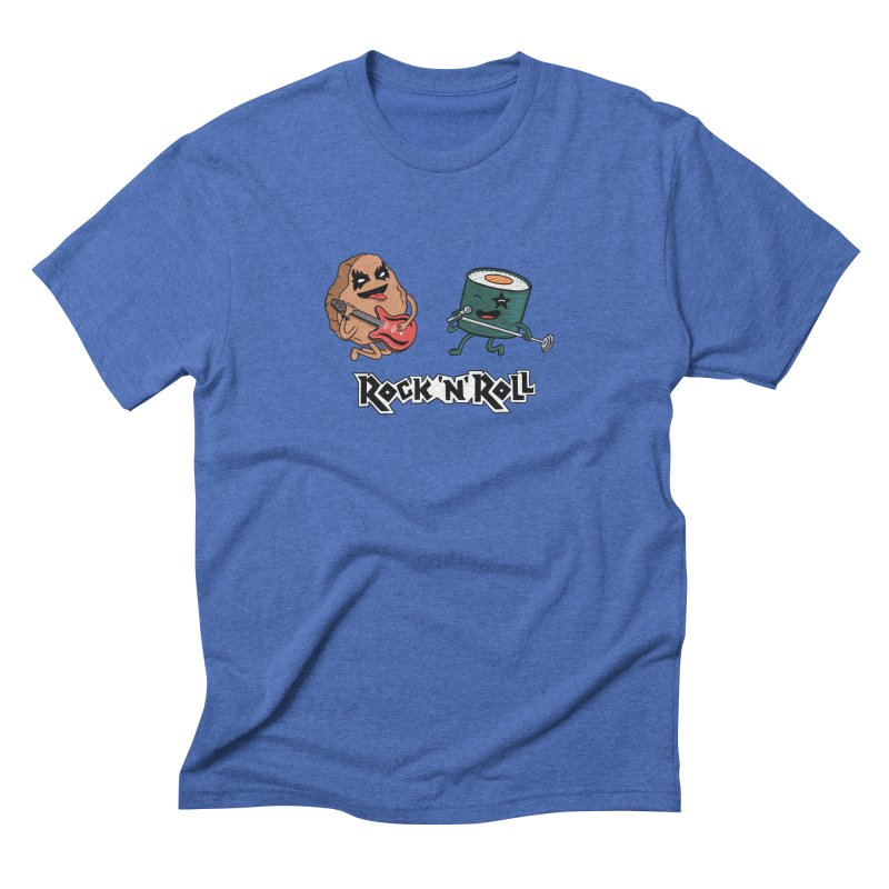 Funny Rock and Rock Men's T-Shirt by coffeeman's Artist Shop