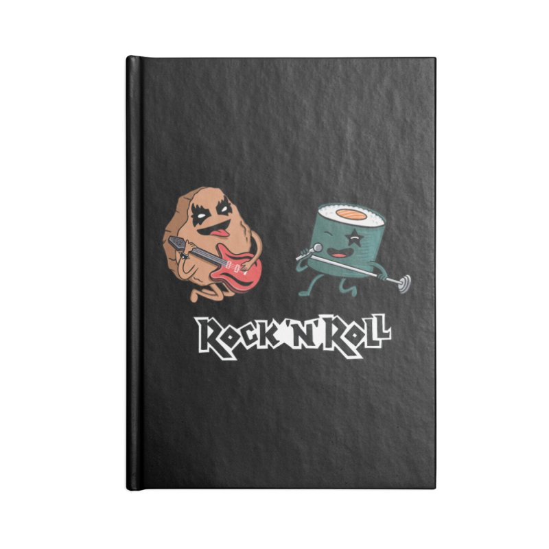 Funny Rock and Rock Accessories Notebook by coffeeman's Artist Shop