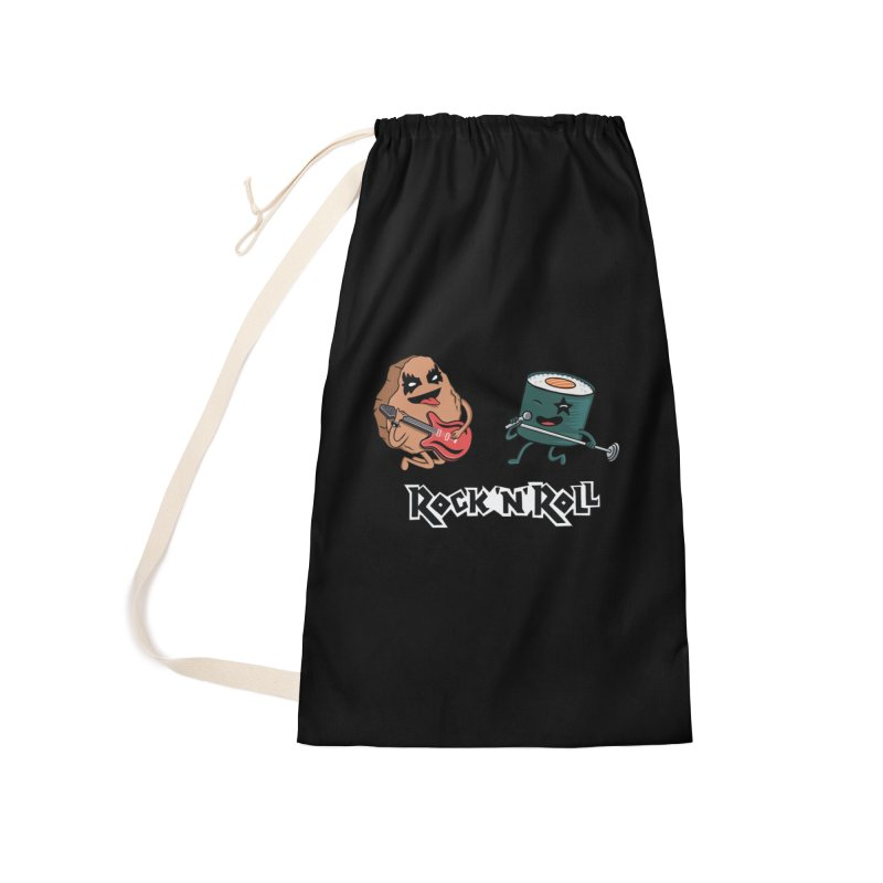 Funny Rock and Rock Accessories Bag by coffeeman's Artist Shop