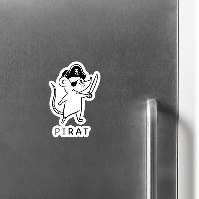 Pirat Accessories Magnet by coffeeman's Artist Shop