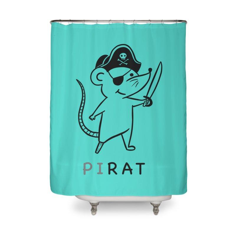 Pirat Home Shower Curtain by coffeeman's Artist Shop