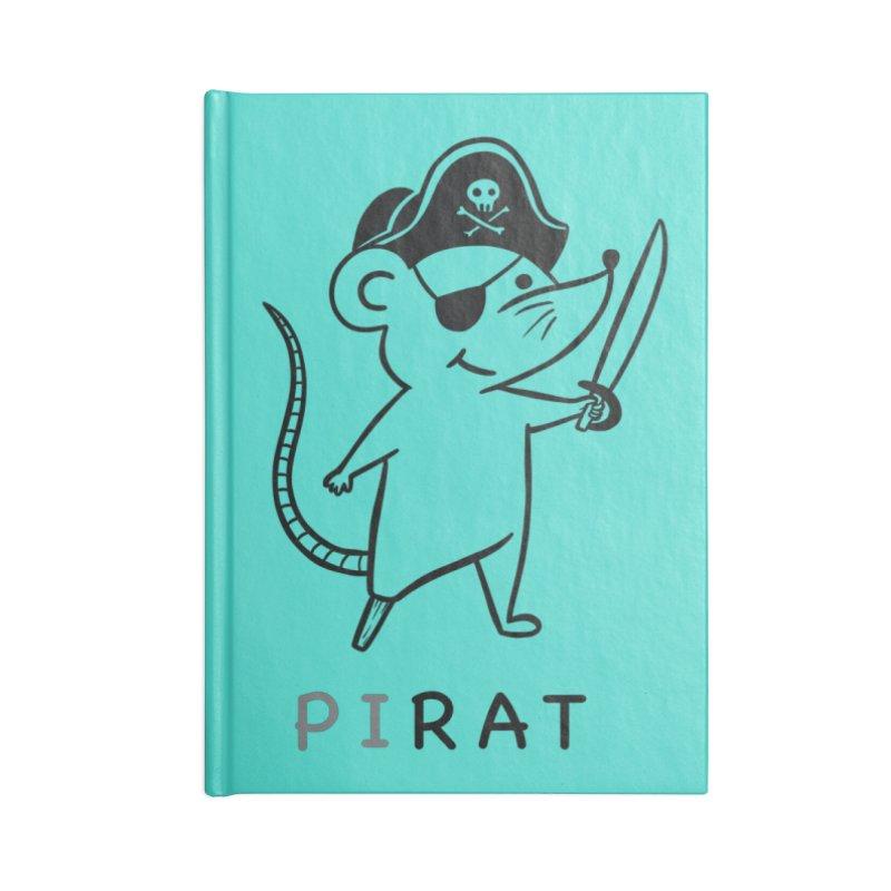 Pirat Accessories Notebook by coffeeman's Artist Shop