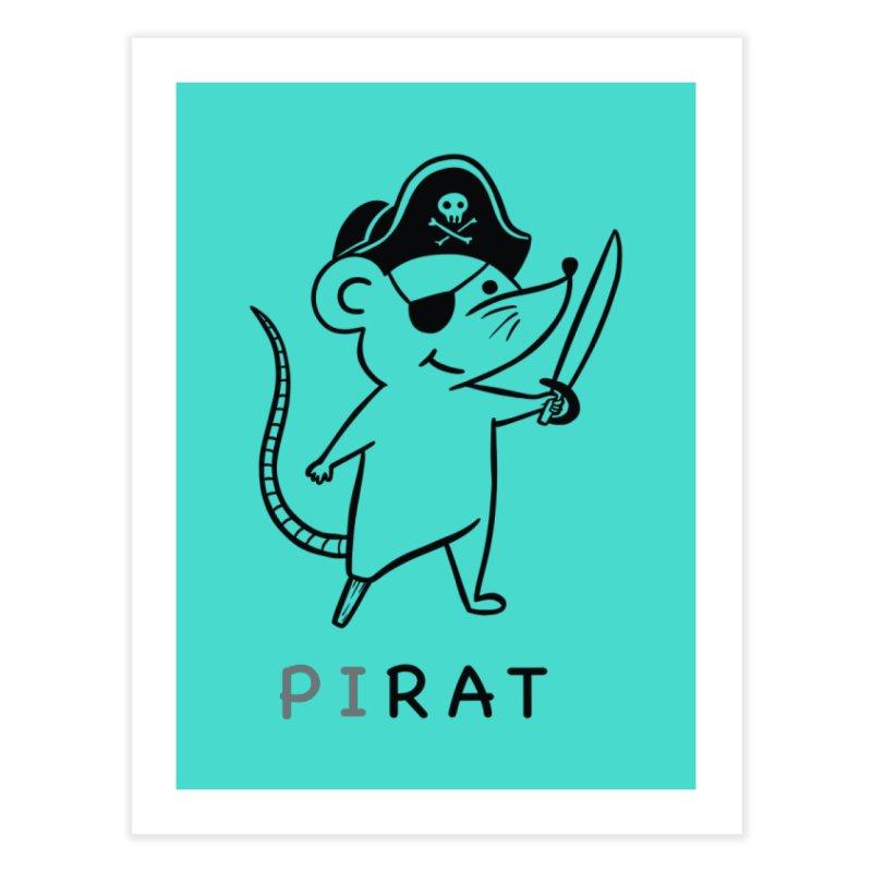 Pirat Home Fine Art Print by coffeeman's Artist Shop