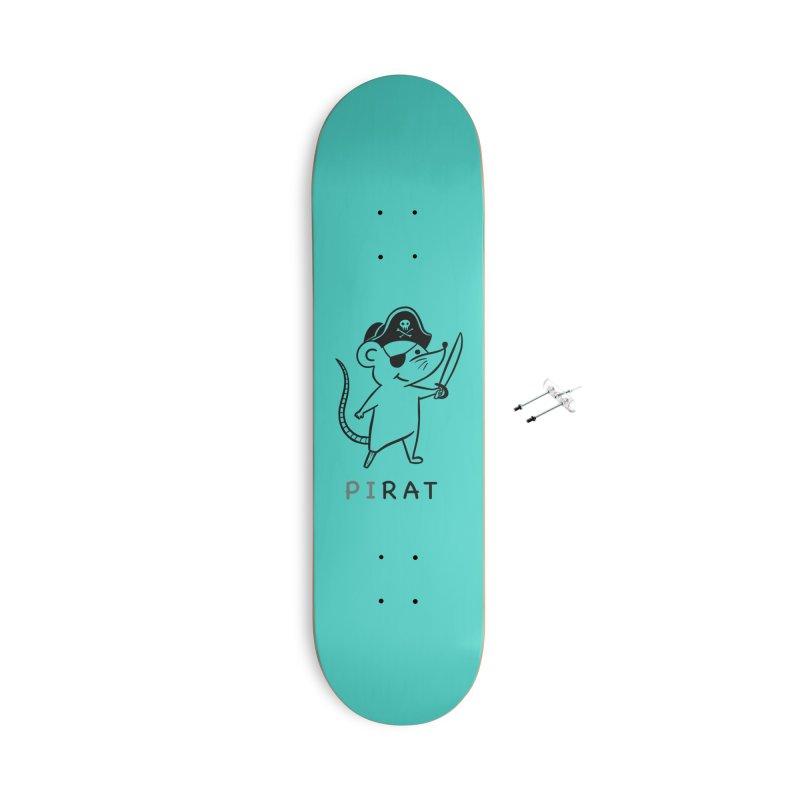 Pirat Accessories Skateboard by coffeeman's Artist Shop