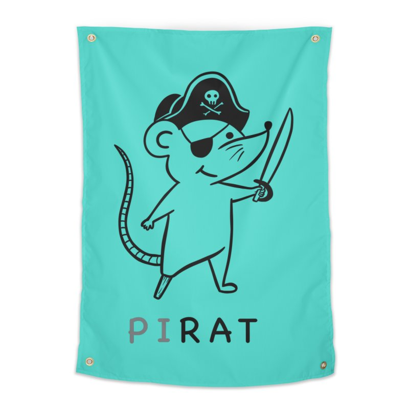 Pirat Home Tapestry by coffeeman's Artist Shop