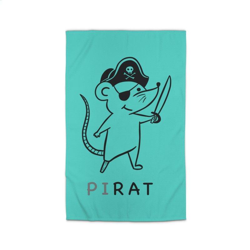 Pirat Home Rug by coffeeman's Artist Shop