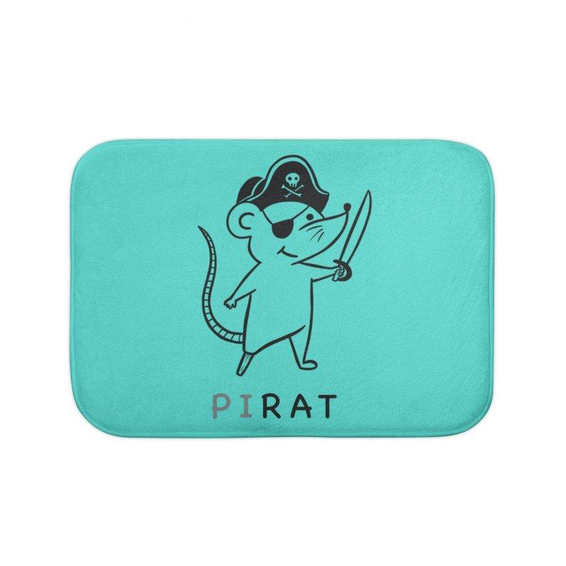 Pirat Home Bath Mat by coffeeman's Artist Shop