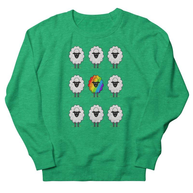 Rainbow Sheep Of The Family Women's Sweatshirt by coffeeman's Artist Shop