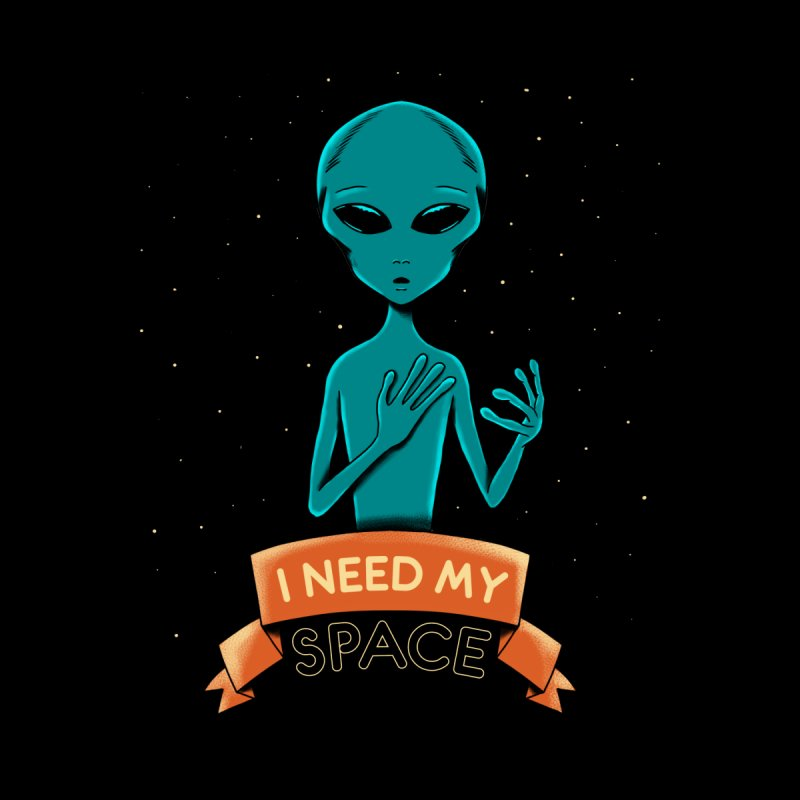 I need my space Accessories Sticker by coffeeman's Artist Shop
