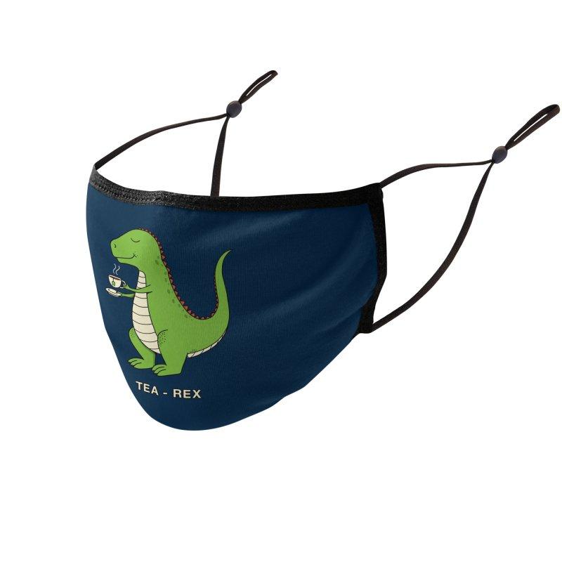 Dinosaur. Accessories Face Mask by coffeeman's Artist Shop