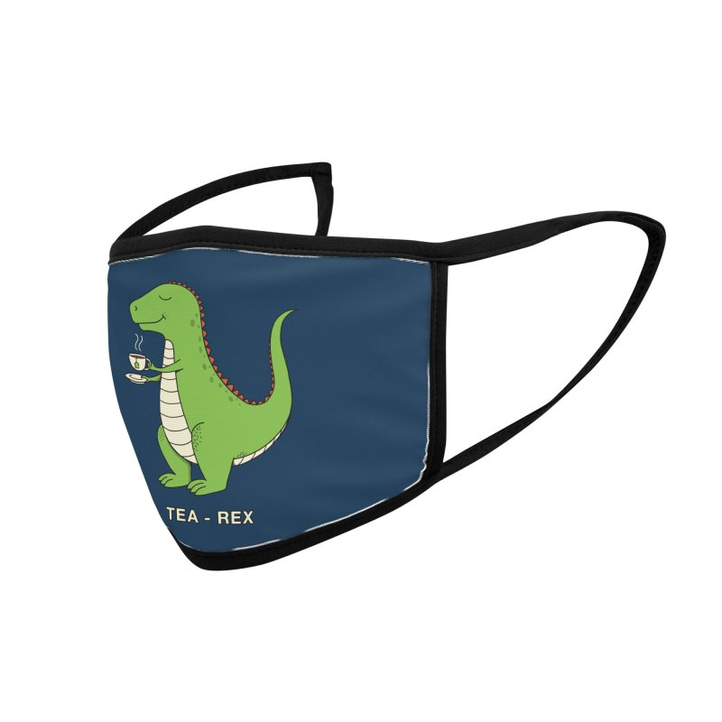 Dinosaur. Accessories Face Mask by coffeeman's Artist Shop