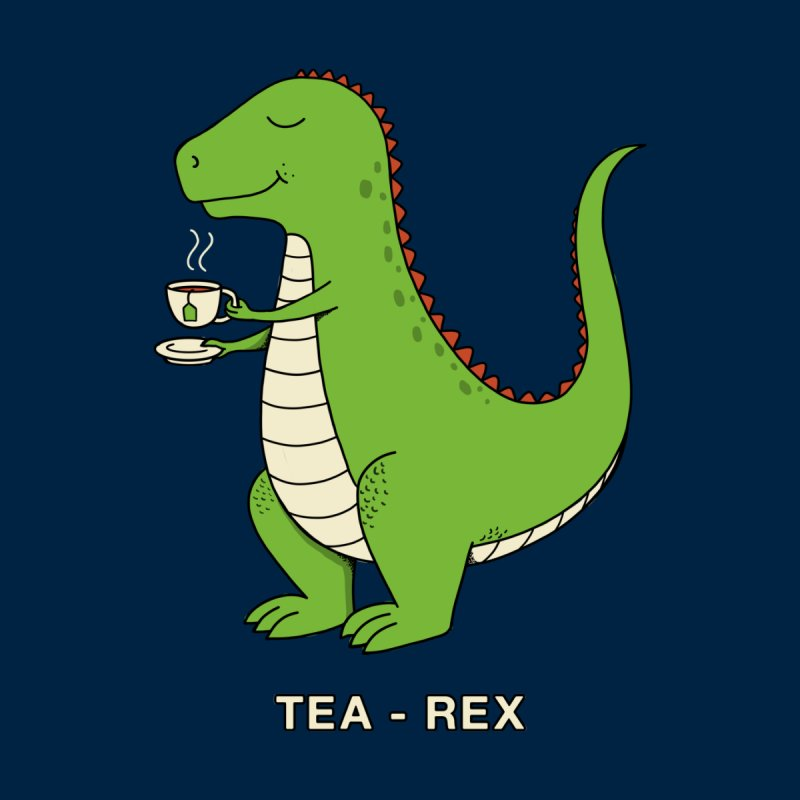 Dinosaur. Men's T-Shirt by coffeeman's Artist Shop