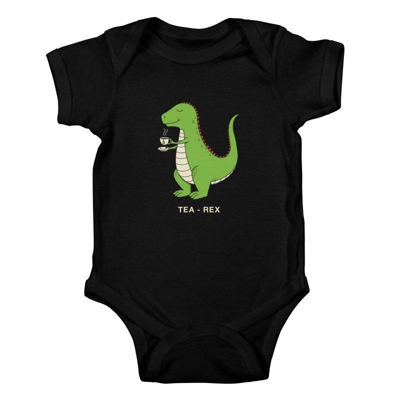 Dinosaur. Kids Baby Bodysuit by coffeeman's Artist Shop