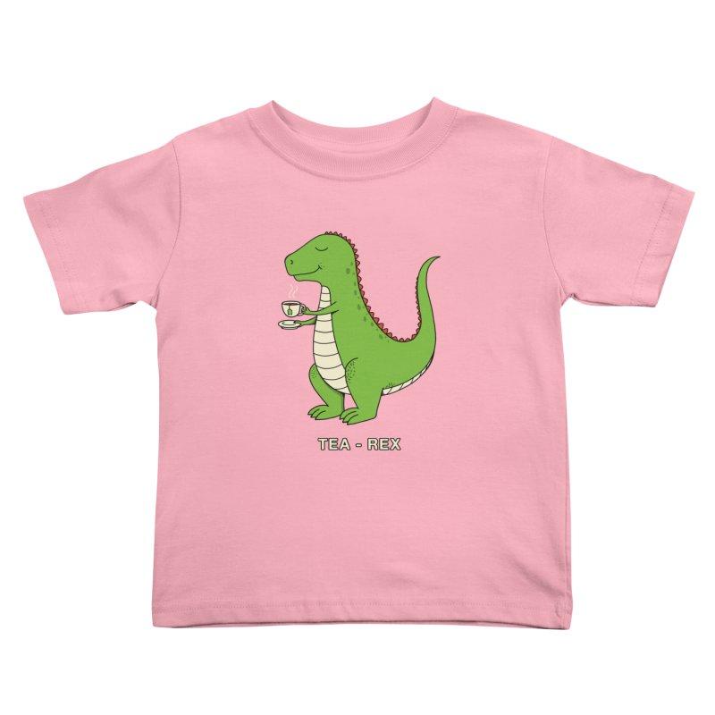 Dinosaur. Kids Toddler T-Shirt by coffeeman's Artist Shop