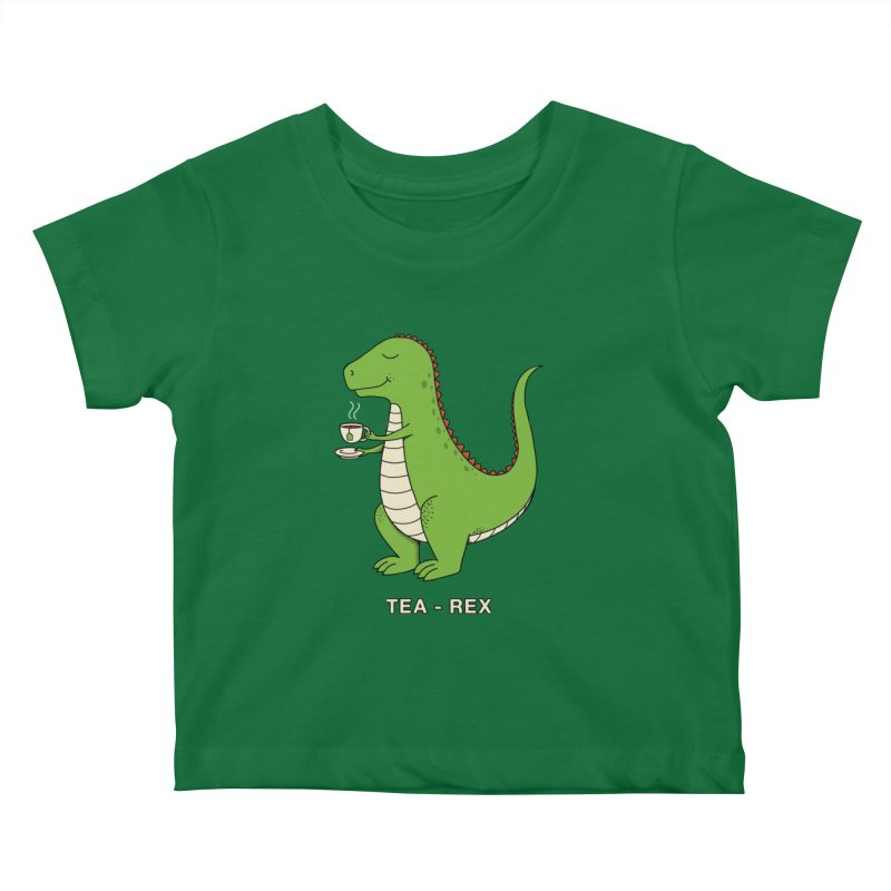 Dinosaur. Kids Baby T-Shirt by coffeeman's Artist Shop