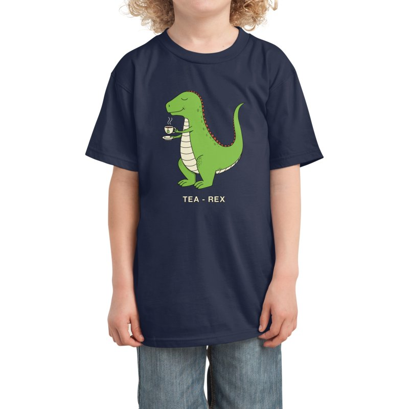 Dinosaur. Kids T-Shirt by coffeeman's Artist Shop