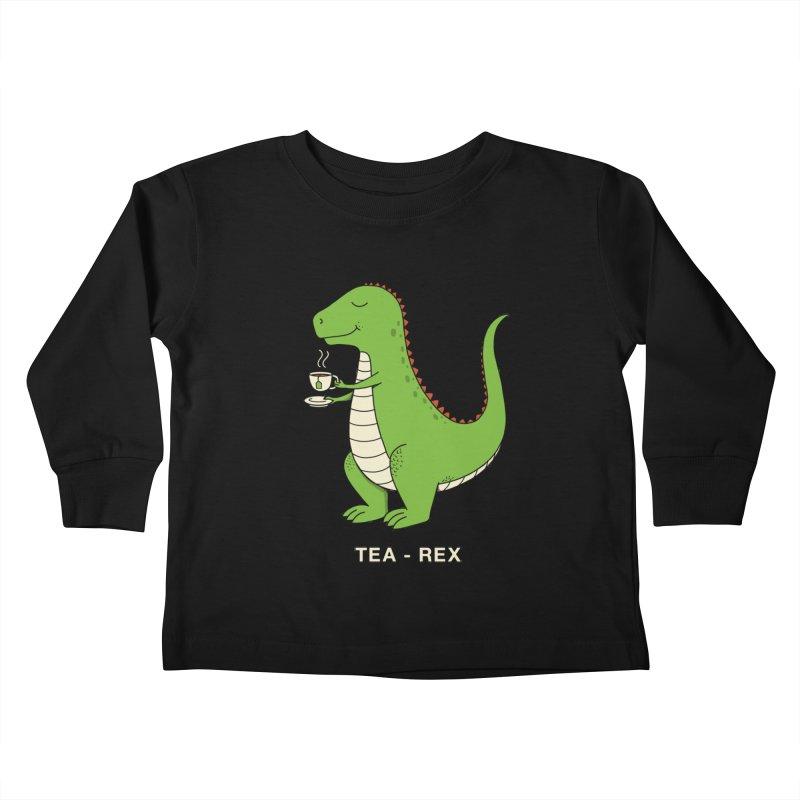 Dinosaur. Kids Toddler Longsleeve T-Shirt by coffeeman's Artist Shop