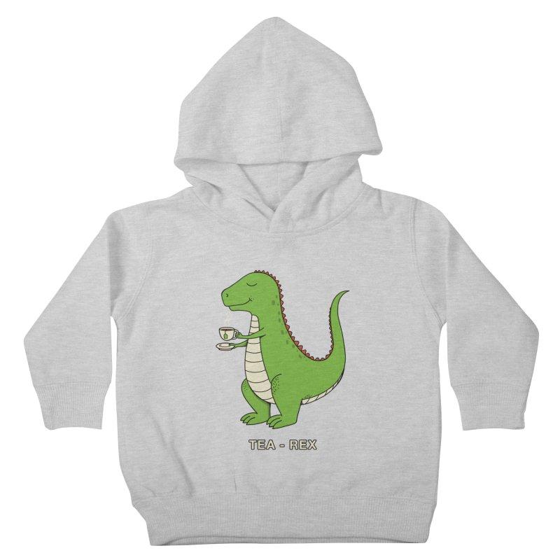 Dinosaur. Kids Toddler Pullover Hoody by coffeeman's Artist Shop