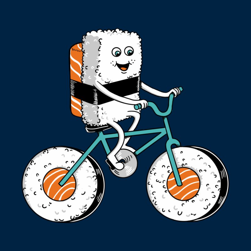 Bicycle Men's T-Shirt by coffeeman's Artist Shop