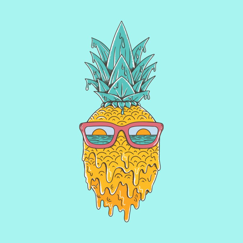 Pineapple Men's T-Shirt by coffeeman's Artist Shop