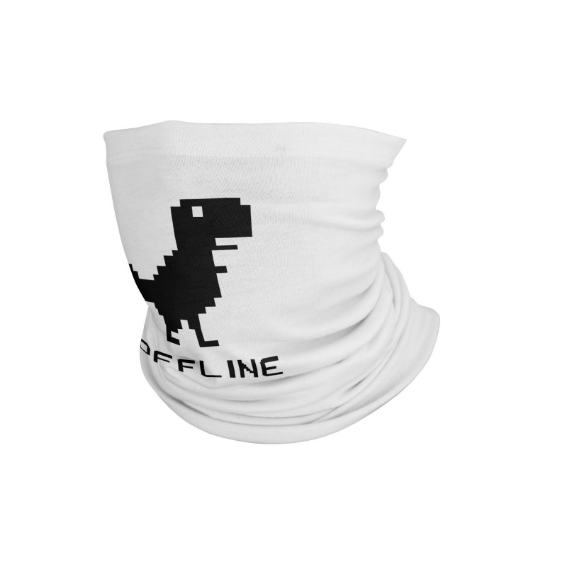 Dinosaur Accessories Neck Gaiter by coffeeman's Artist Shop