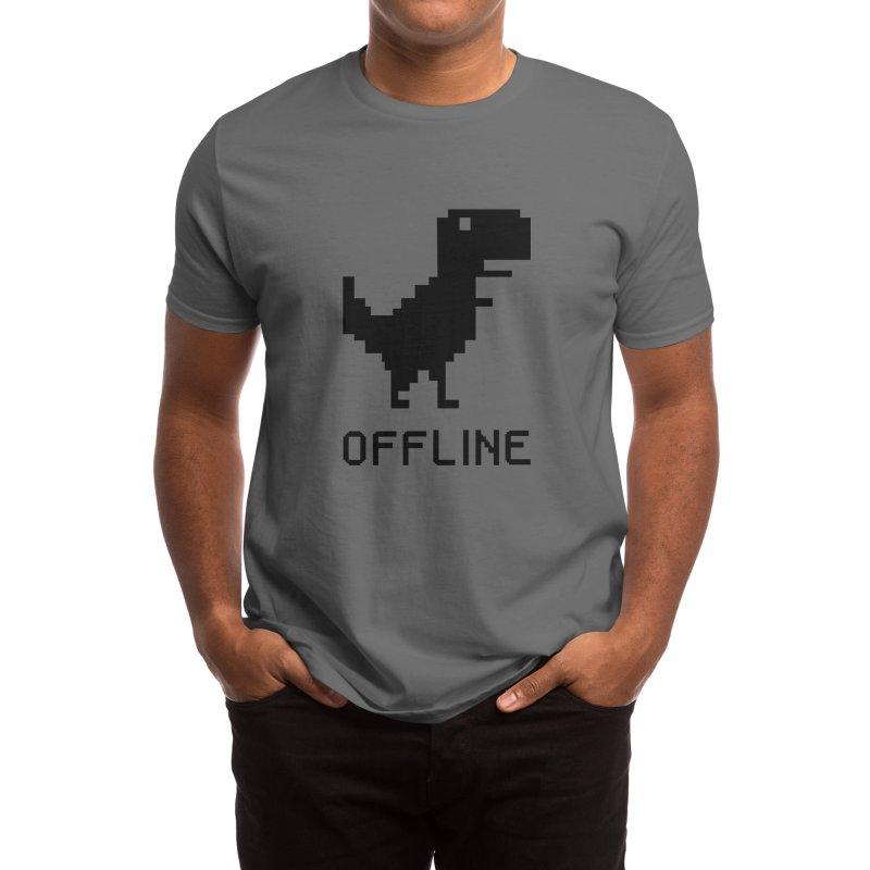 Dinosaur Men's T-Shirt by coffeeman's Artist Shop
