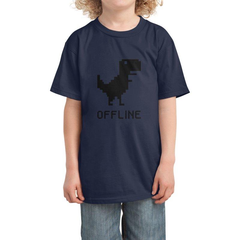 Dinosaur Kids T-Shirt by coffeeman's Artist Shop