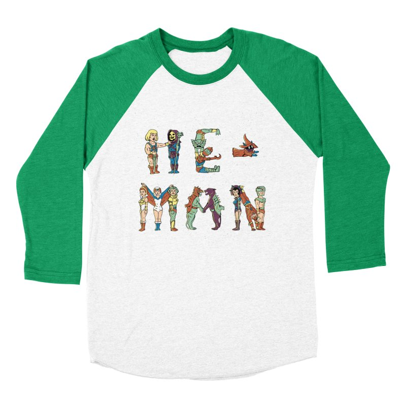 HE-MAN Women's Baseball Triblend Longsleeve T-Shirt by coffeeman's Artist Shop