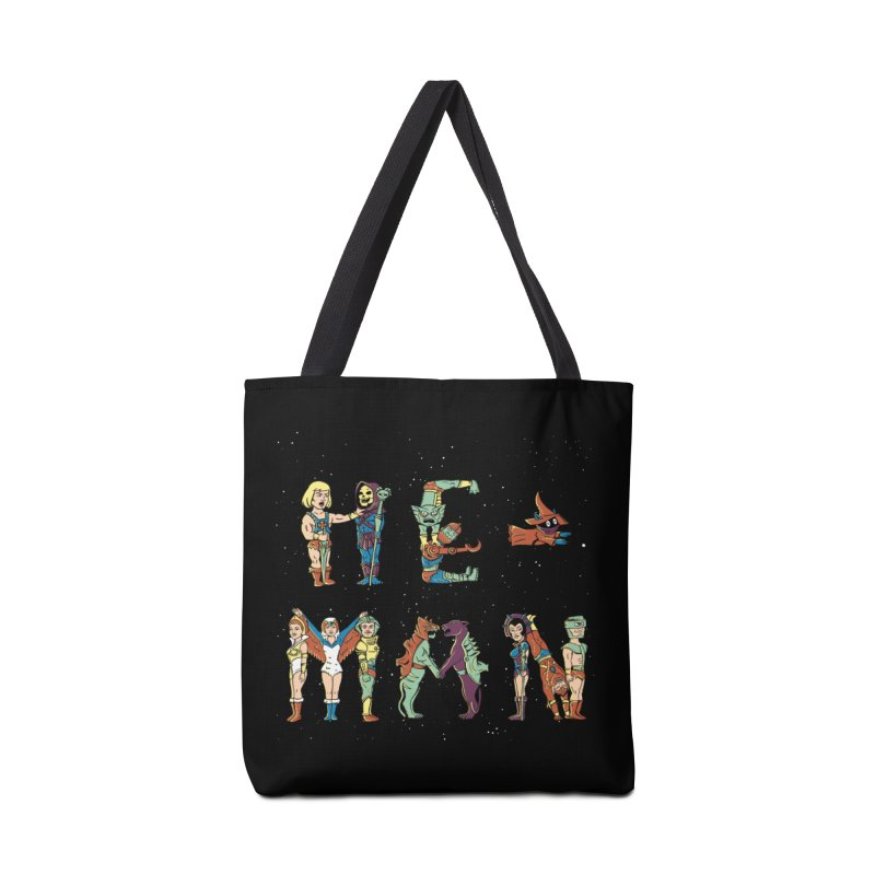 HE-MAN Accessories Tote Bag Bag by coffeeman's Artist Shop