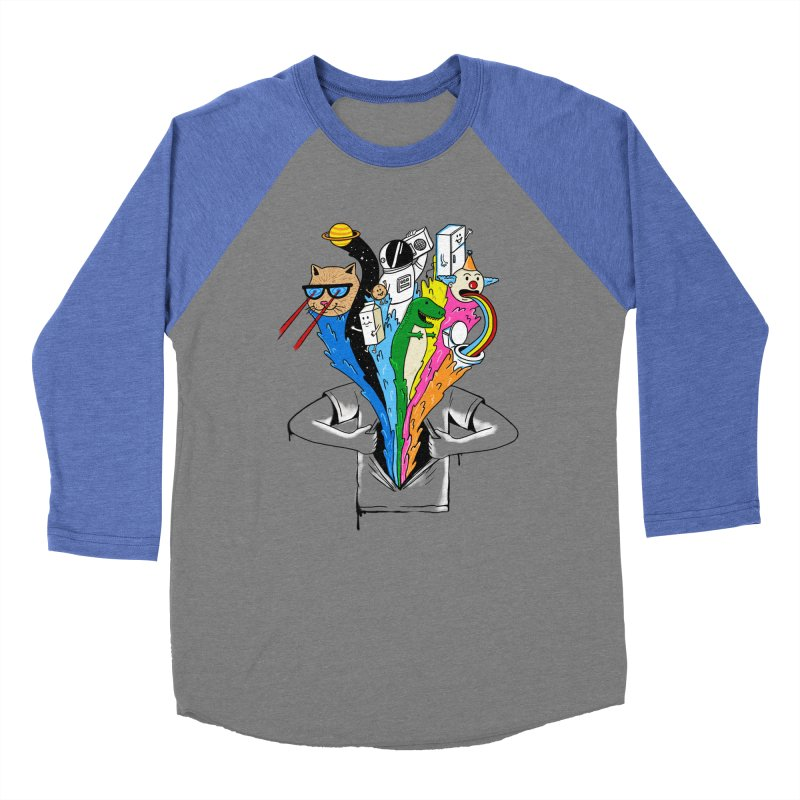 pop culture Women's Baseball Triblend Longsleeve T-Shirt by coffeeman's Artist Shop