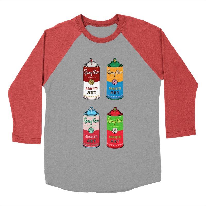 POP ART Women's Baseball Triblend Longsleeve T-Shirt by coffeeman's Artist Shop