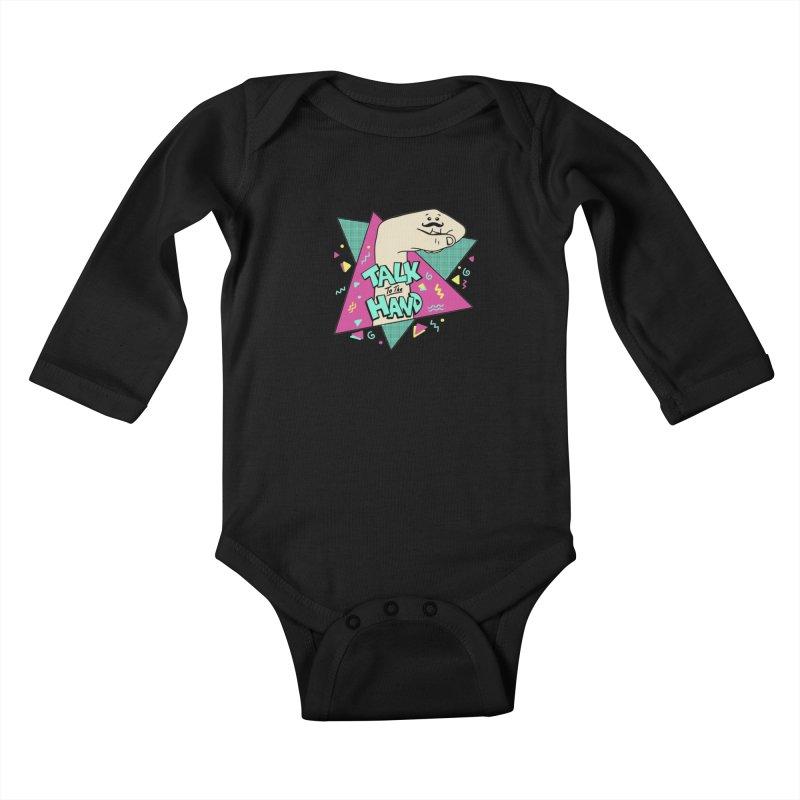 funny Kids Baby Longsleeve Bodysuit by coffeeman's Artist Shop