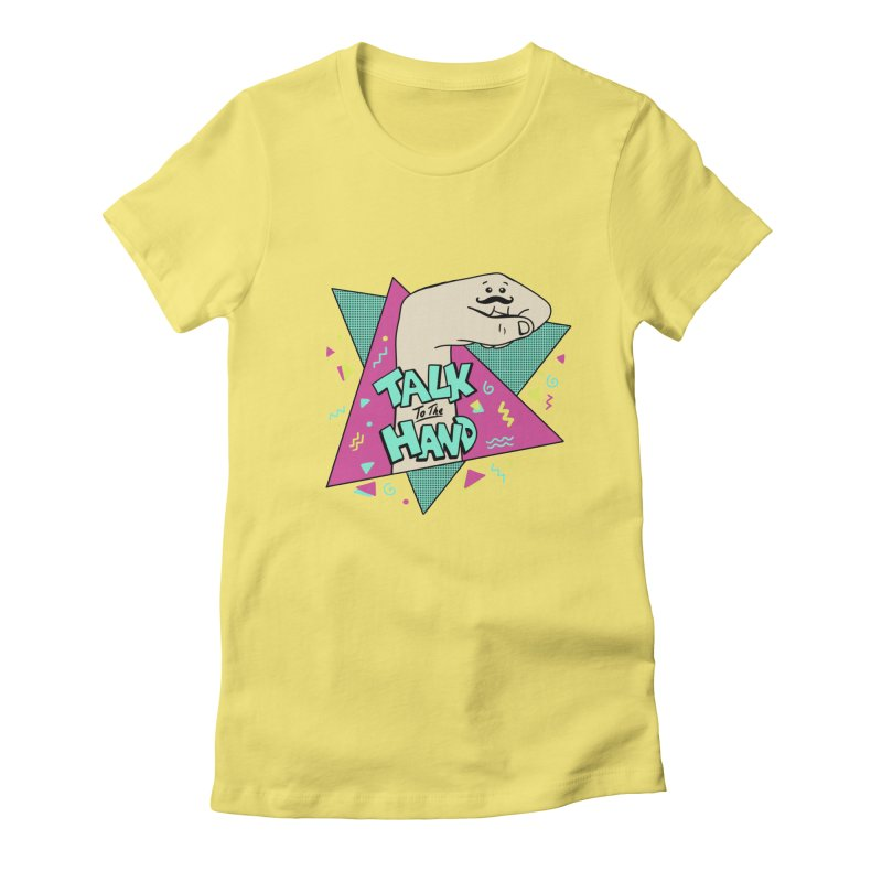 funny Women's Fitted T-Shirt by coffeeman's Artist Shop