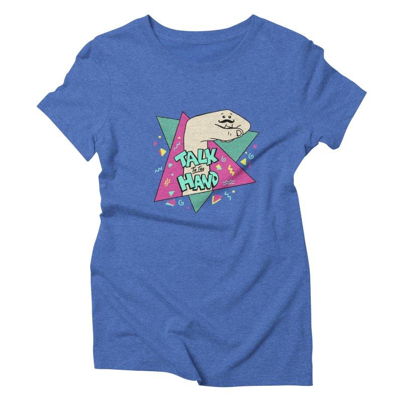 funny Women's Triblend T-Shirt by coffeeman's Artist Shop