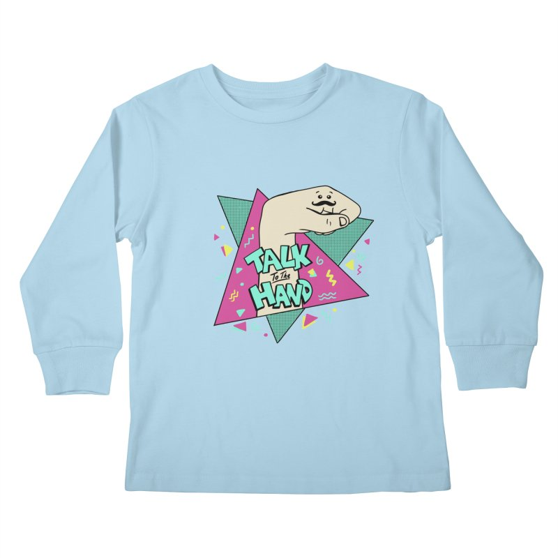 funny Kids Longsleeve T-Shirt by coffeeman's Artist Shop