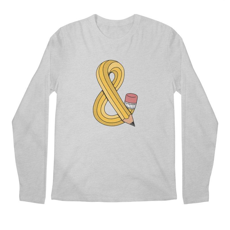 funny Men's Regular Longsleeve T-Shirt by coffeeman's Artist Shop