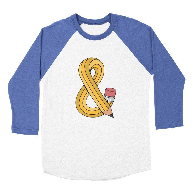 funny Women's Baseball Triblend Longsleeve T-Shirt by coffeeman's Artist Shop