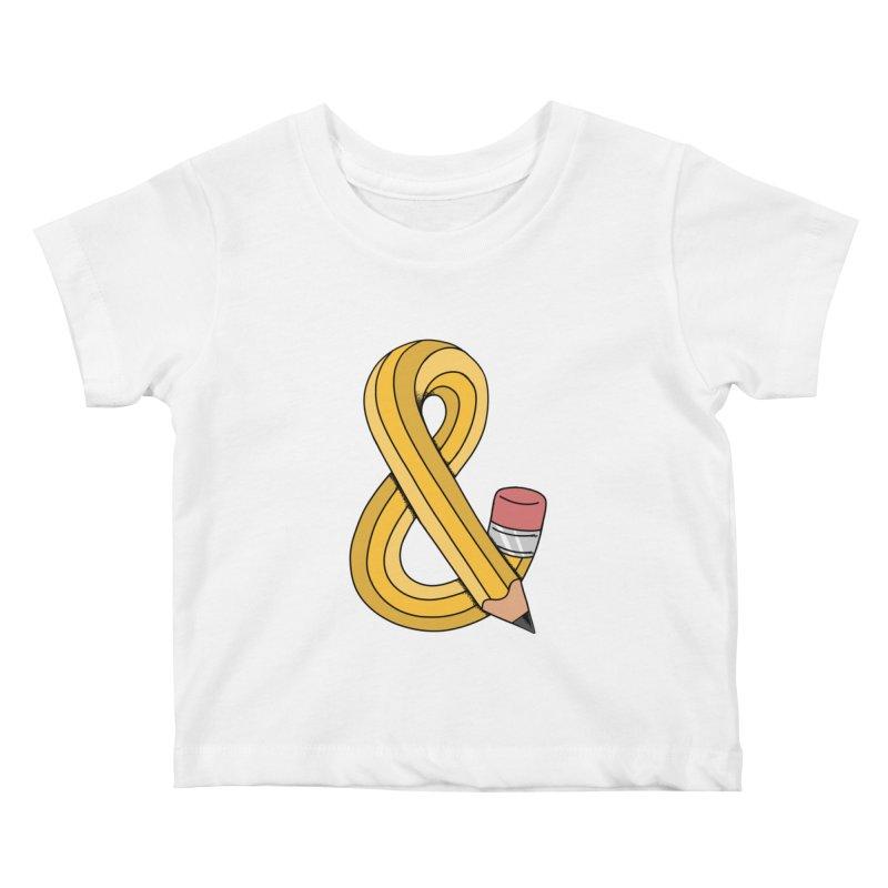 funny Kids Baby T-Shirt by coffeeman's Artist Shop