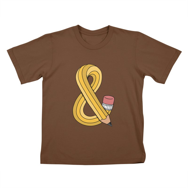 funny Kids T-Shirt by coffeeman's Artist Shop